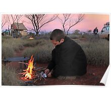 Jack's Campfire Poster