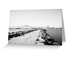 Land of Ice and snow Greeting Card