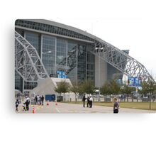 """Dallas Cowboy Stadium"" Canvas Print"