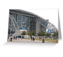 """Dallas Cowboy Stadium"" Greeting Card"