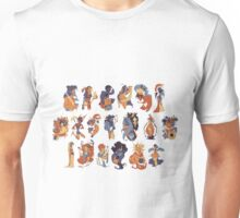 theMaM Greek Gods Crew Unisex T-Shirt