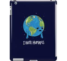 I Hate Humans iPad Case/Skin
