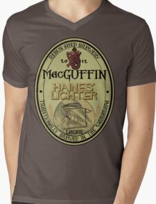 MacGuffin Brewery - Haines' Lighter Lager Mens V-Neck T-Shirt