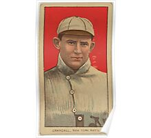 Benjamin K Edwards Collection Doc Crandall New York Giants baseball card portrait 001 Poster