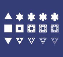 Three fractals by Kip Stewart