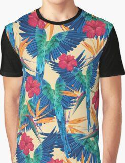 Parrots Graphic T-Shirt