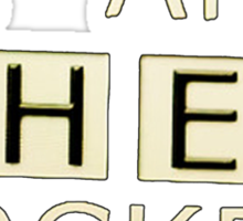 Sherlocked Sticker
