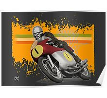 cafe racer - agusta 500/4 Poster
