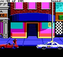 Police Quest Adventure Sierra by simiannz