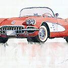 Chevrolet Corvette C1 1960 by Yuriy Shevchuk