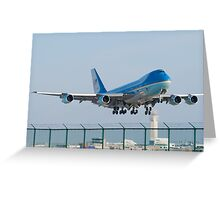 Air Force One Lifts Off from KCLE January 2012 Greeting Card