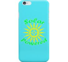 Solar Powered iPhone Case/Skin