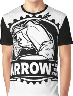 Arrow To The Knee Graphic T-Shirt