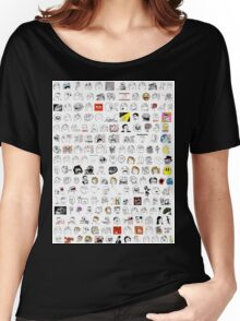 Meme Collage Women's Relaxed Fit T-Shirt