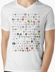 Meme Collage Mens V-Neck T-Shirt