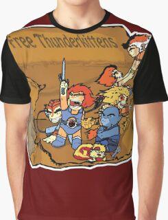 Free Thunderkittens Graphic T-Shirt