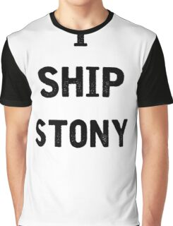 I Ship Stony Graphic T-Shirt