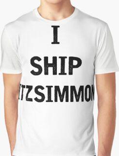 I Ship Fitzsimmons Graphic T-Shirt