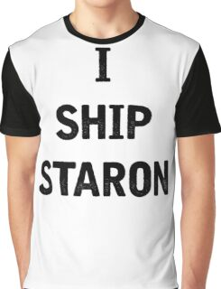 I Ship Staron Graphic T-Shirt