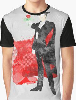 Tuxedo Mask, Sailormoon Giclee Art Print Graphic T-Shirt