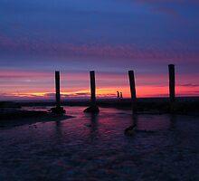 Sunset 5 at Paekakariki by HelenPadarin