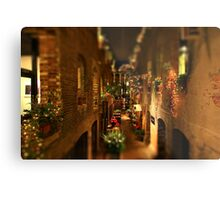 Mini Market Metal Print