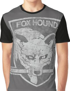 Battle Worn - Fox Hound Special Force Group  Graphic T-Shirt