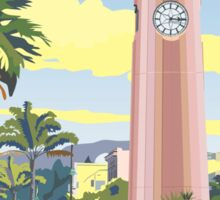 Gisborne Art Deco Clock Tower Sticker