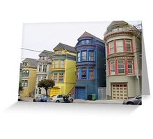 San Francisco Villas Greeting Card