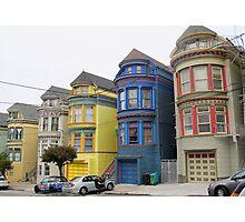 San Francisco Villas Photographic Print
