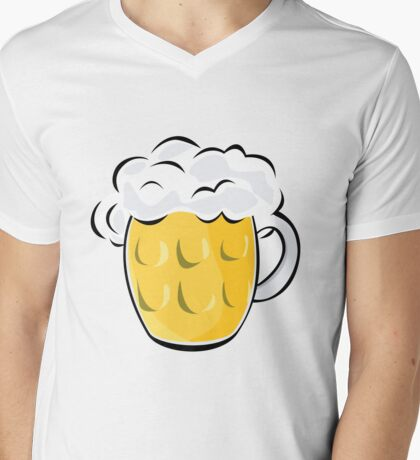 Pint Mens V-Neck T-Shirt