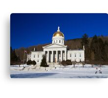 The People's House - Montpelier, Vermont Canvas Print
