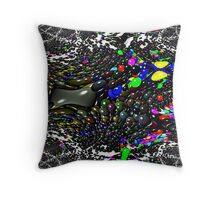 Jelly bean...Abstract Throw Pillow