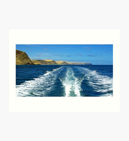 Fleurieu Peninsula coast, South Australia Art Print