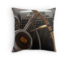 """Old Money"" Throw Pillow"