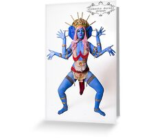 RELIGIOUS ICONS by LUCILLE SPIELFUCHS Greeting Card