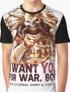 I Want YOU for WAR, BOY Graphic T-Shirt