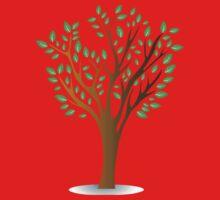Green tree Kids Tee