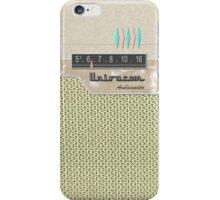 Vintage Transistor Radio - Ambassador iPhone Case/Skin