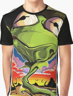Green and Loathing Graphic T-Shirt
