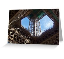 Eiffel Tower, Paris, France Greeting Card