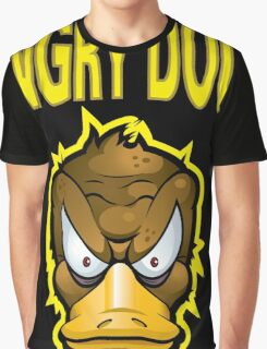 Angry Duck Graphic T-Shirt