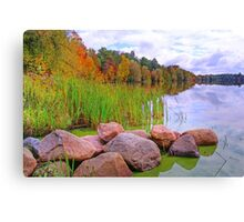 Rib Lake,Wisconsin U.S.A. Canvas Print