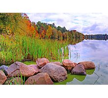 Rib Lake,Wisconsin U.S.A. Photographic Print