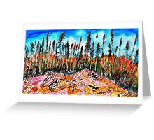 Northern Forest Greeting Card