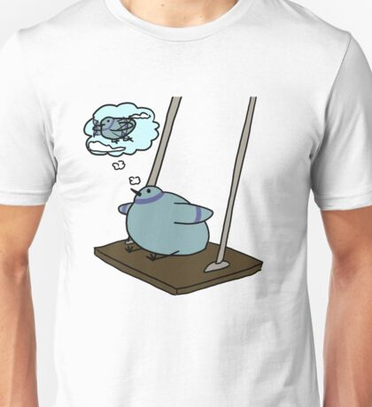 fat birb with dreams Unisex T-Shirt