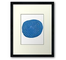 Blue Putty Framed Print