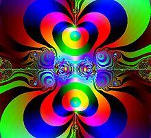 BullEye in Color by BingoStar