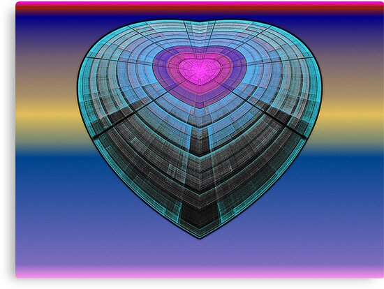 Spherical-Disc 2: Heart Ship  (UF0565) by barrowda