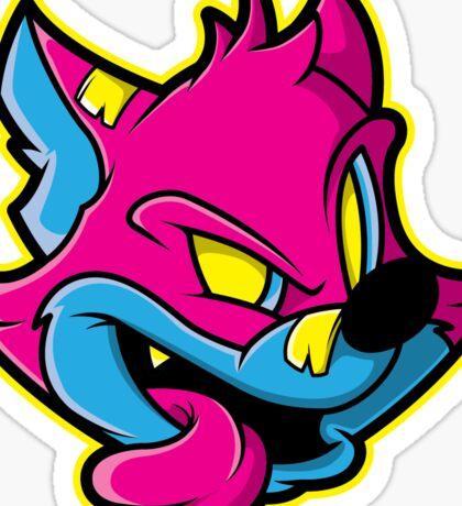 Sly Cat Sticker